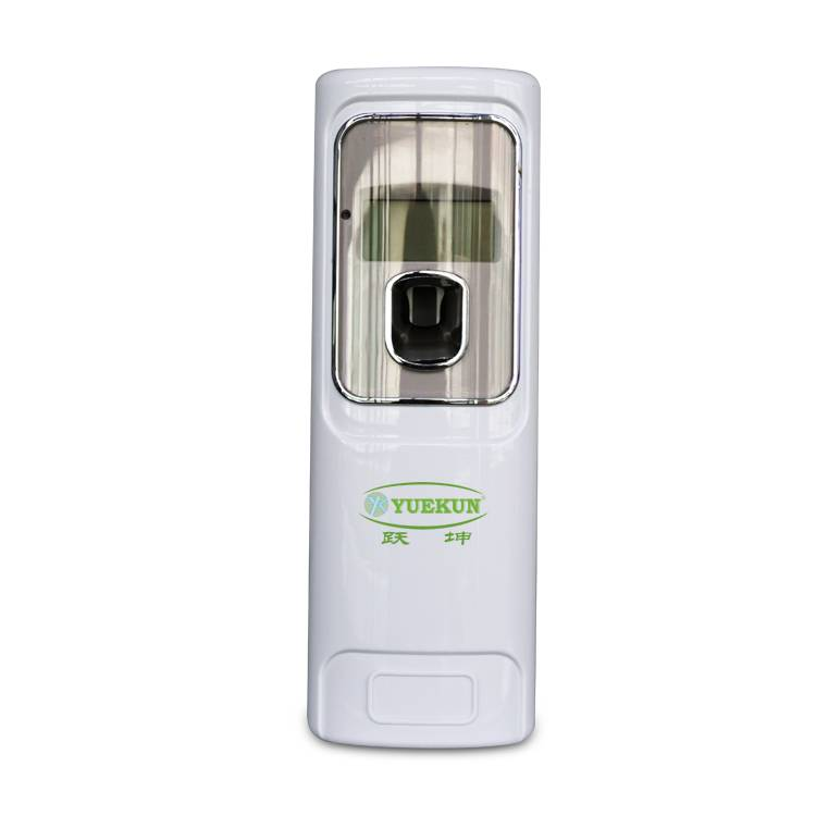 Yuekun factory direct sale hotel electric wall automatic LCD aerosol fragrance dispenser