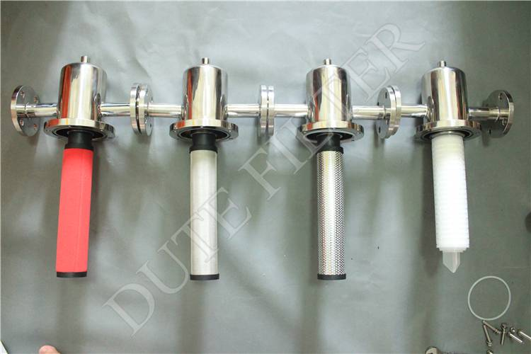 5'' 10'' 20'' stainless steel compressed air filter