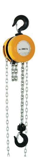 CH-E Round Chain Hoist Chain Block 0.5t-30t