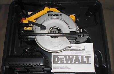 dewalt dw007 24v cordless circular saw new gintins tools