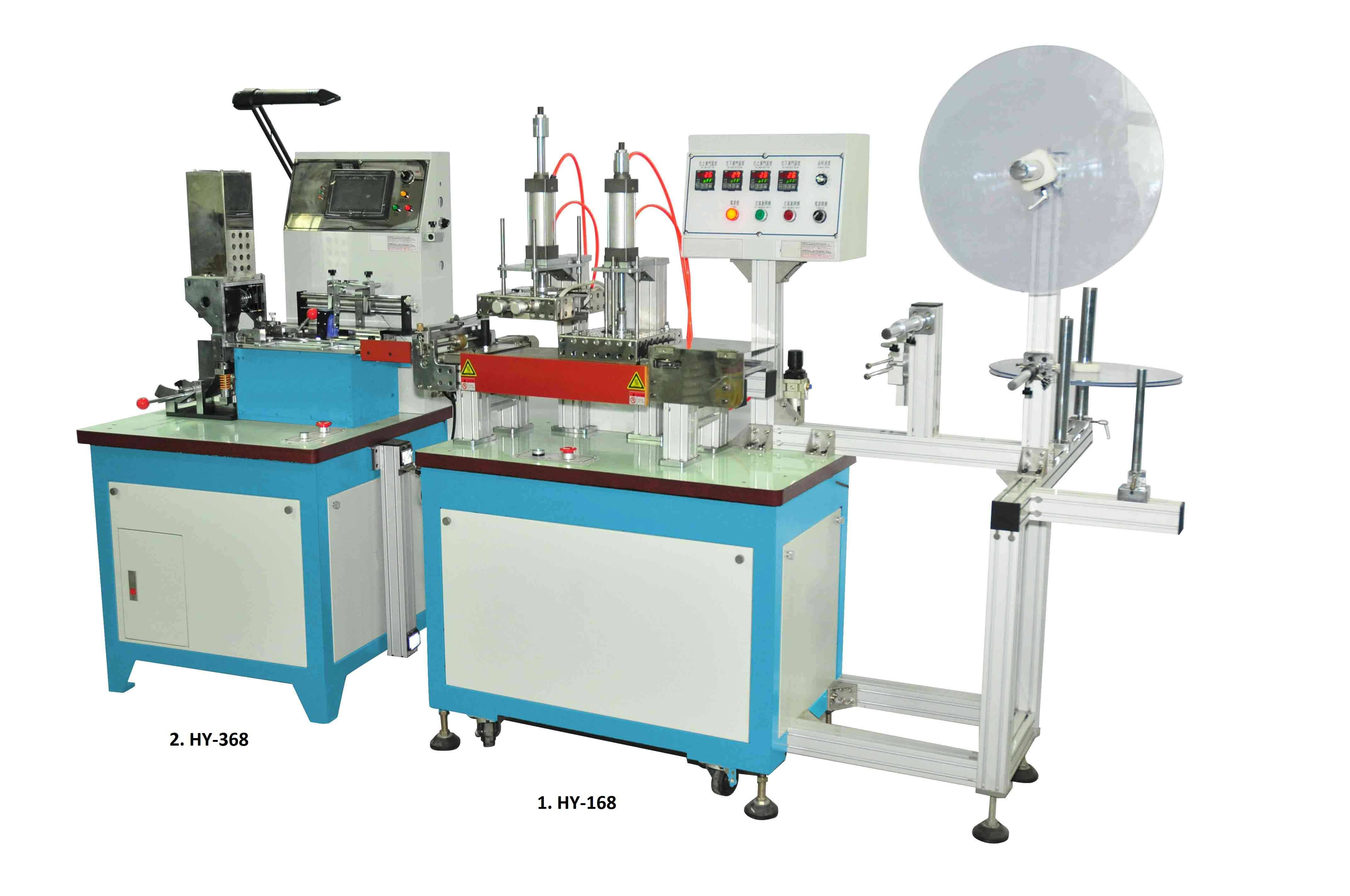 Special -Function Label Cutting & Folding Machine (HY-168+HY-368)
