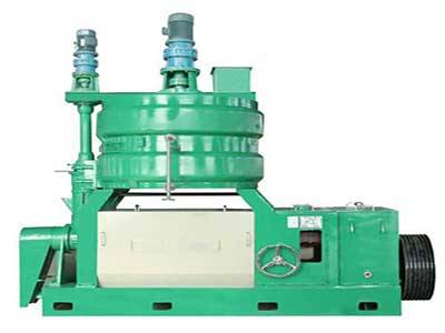 Frist oil press machine mainly has the following advantages