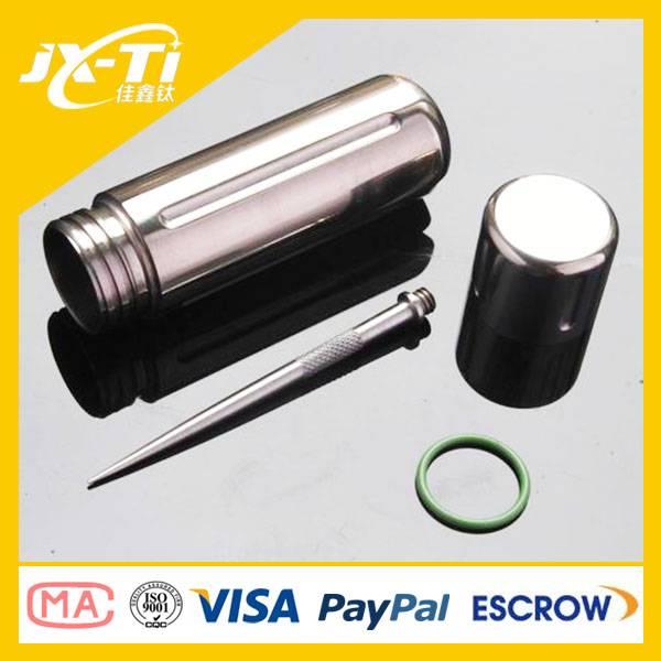 Titanium Capsule, storage case