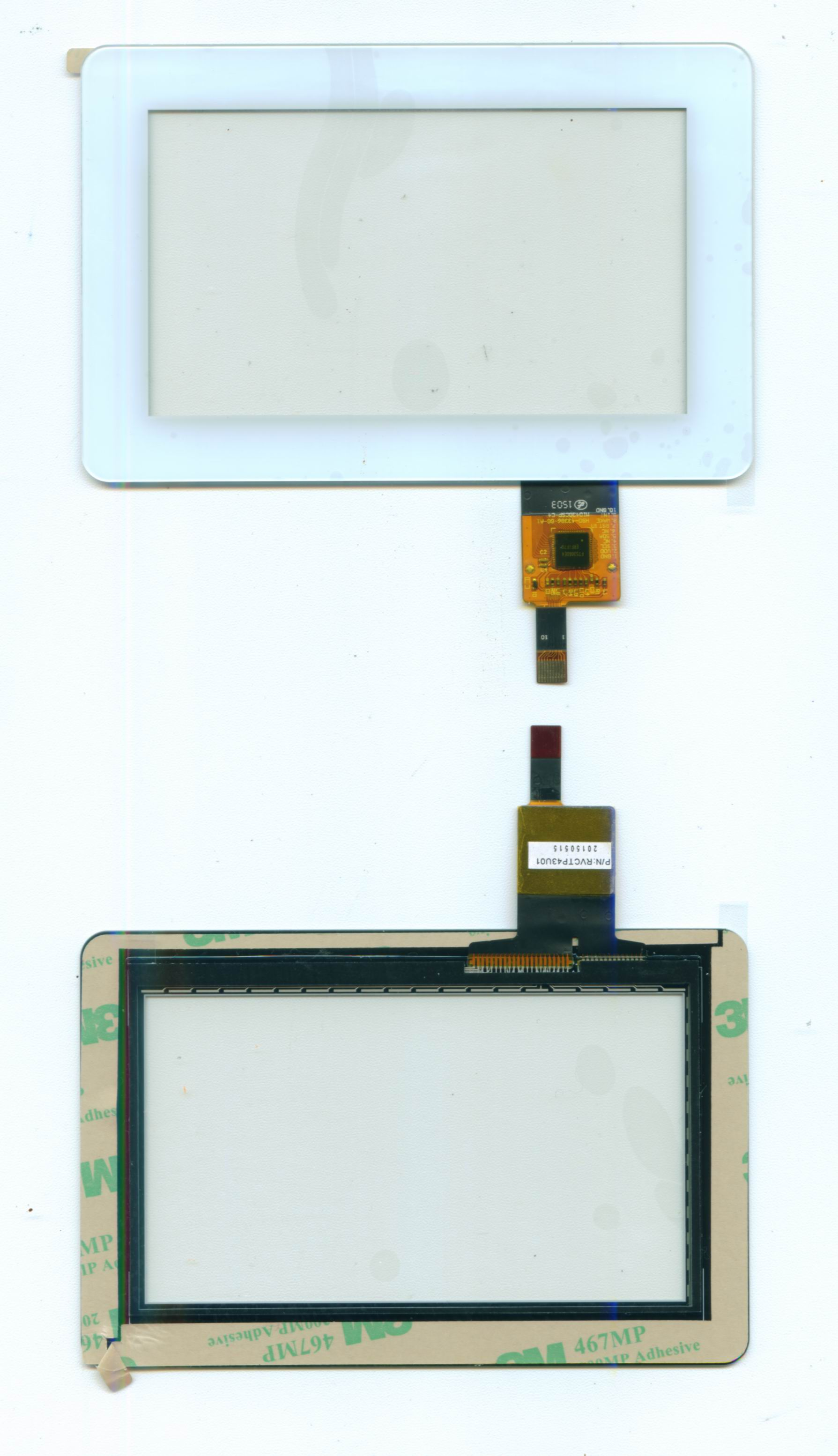 """1.77""""-12"""" capacitive touch panel"""