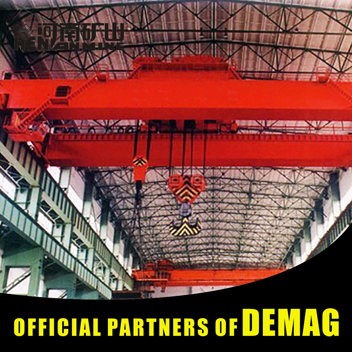 Construction Machinery Industrial Use 40T Launching Double-Beam Bridge Crane Manufacturers For Steel