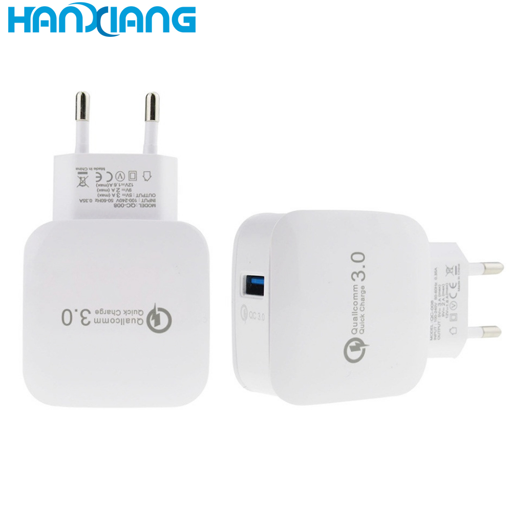 2019 New Style Fast Wall USB Charger One Port 2.4A Wall Charger Quick 3.0 Charger For phone