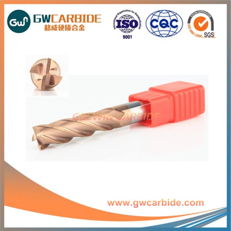 HRC45-55 YG8 Tungsten carbide end mill