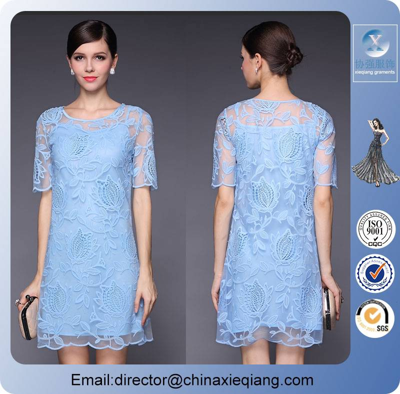 New arrivals women sexy lace dress