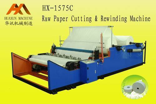 HX-1575C(HX-1092/1575/2200/2300/2400/2600/2800C)HX-1575C Jumbo Roll Paper Cutting Machine