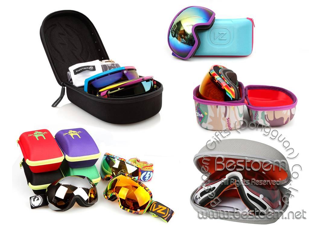 Moulded EVA Ski Goggle Cases Protectors Boxes