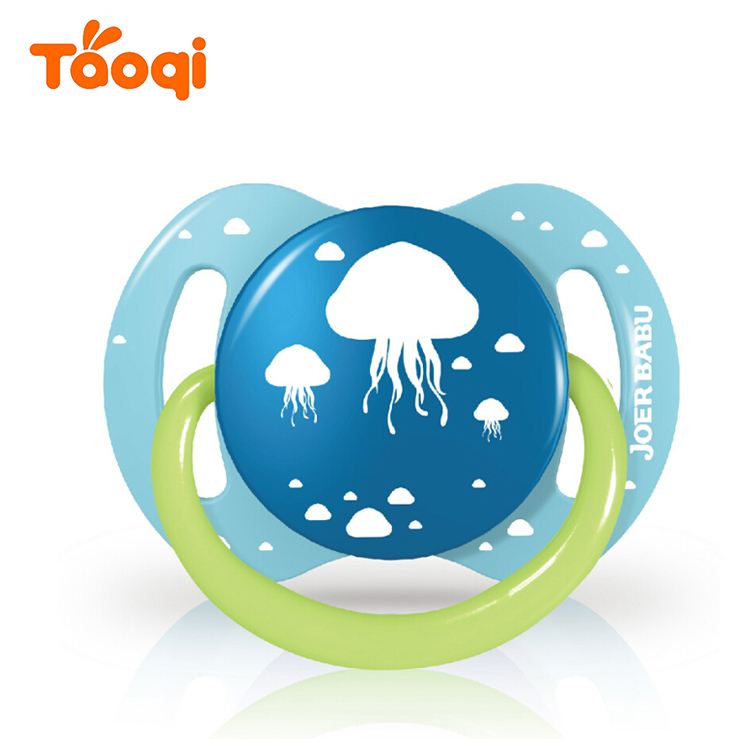 Orthodontic Silicone Baby Soother Pacifier