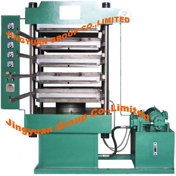 Vulcanizing press(Rubber Tile Forming Machine/Rubber Tile Molding Machine)