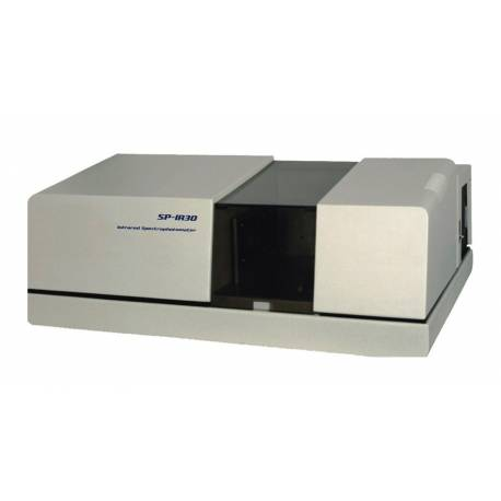 Dual-beam infrared spectrophotometer