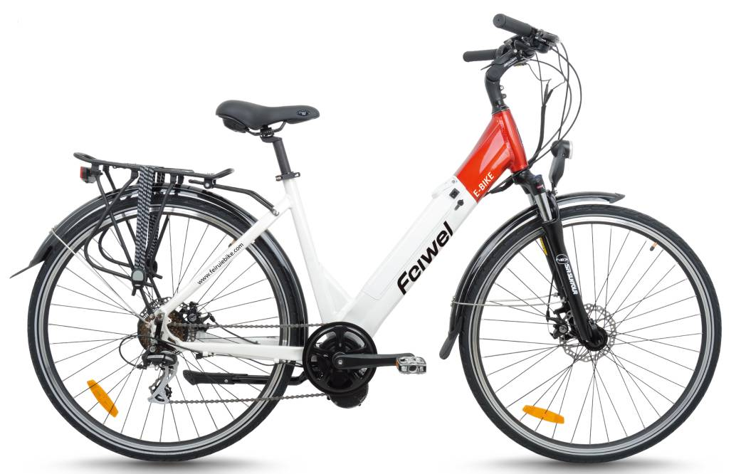 Mid-drive motor city electric bike (FR-TDB07Z)