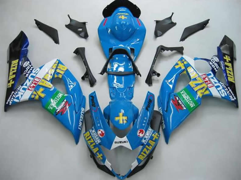 GSX-R1000 2005 to 2006 sport moto fairings replacement RIZLA body kits