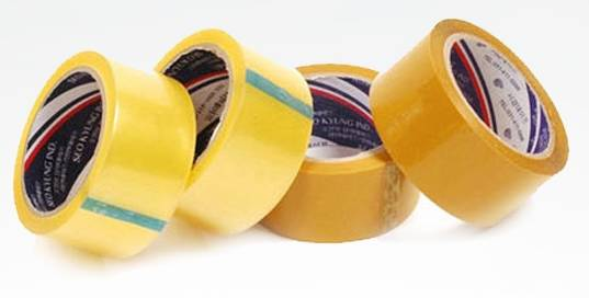 Rubber adhesive opp tape