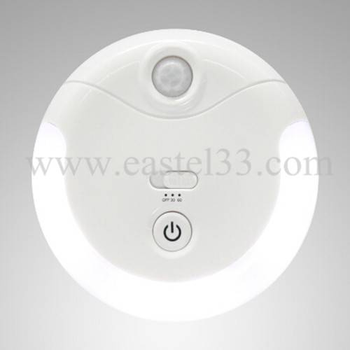 S101 Portable night light LED home lighting with battery-power, 30/60 second light