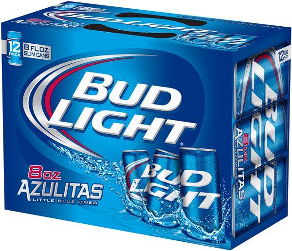 Bud Light Platinum beer 33cl bottle & 50cl can
