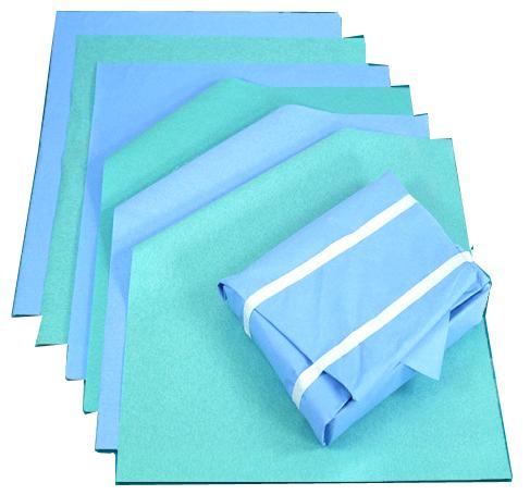 Crepe paper / steri-wrap paper