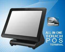 The latest fanless POS Terminal with Intel  ATOM solution