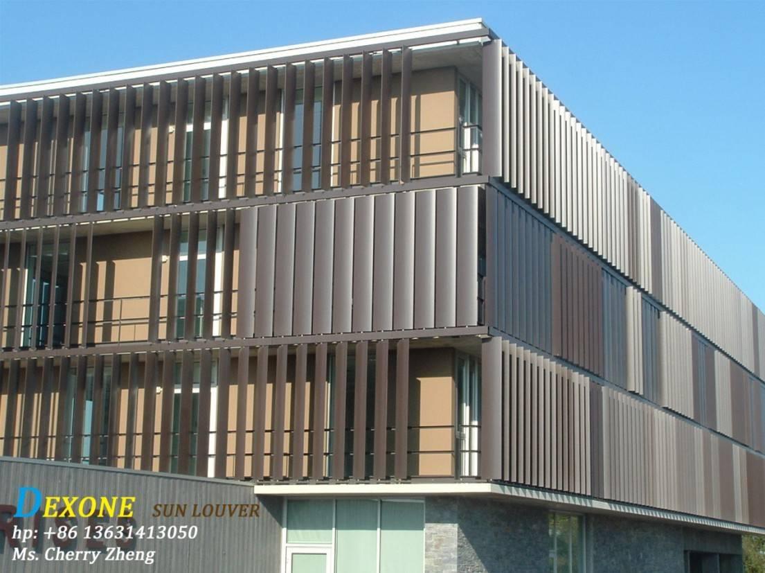 Airfoil aluminum louver/ solar shading