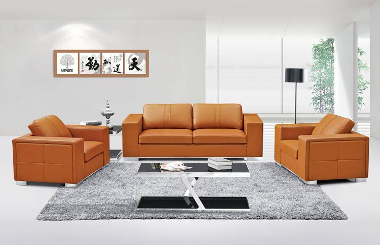 Modern office sofa with stainless legs,leisure sofa,executive office sofa
