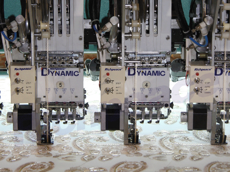 Computerized Wallcloth Embroidery Machine