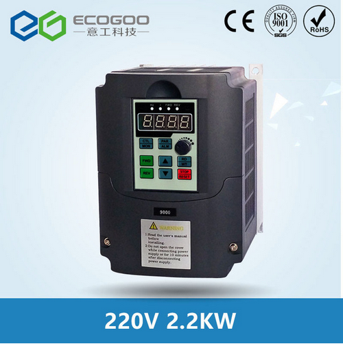 2.2kw 220v AC Frequency Inverter & Converter Output 3 Phase 650HZ ac motor water pump controller