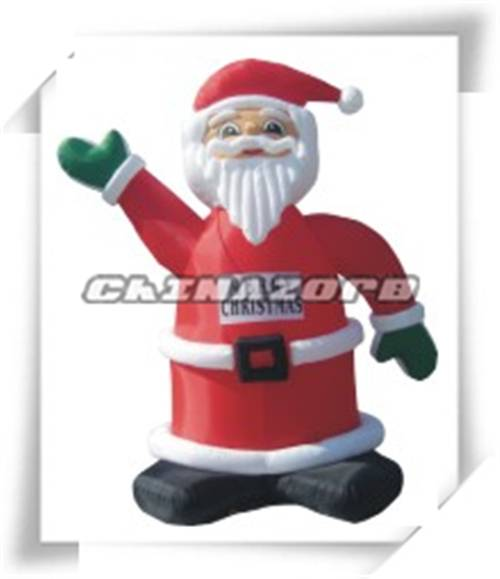 Christmas inflatable santa claus replica good for festival or business advertising