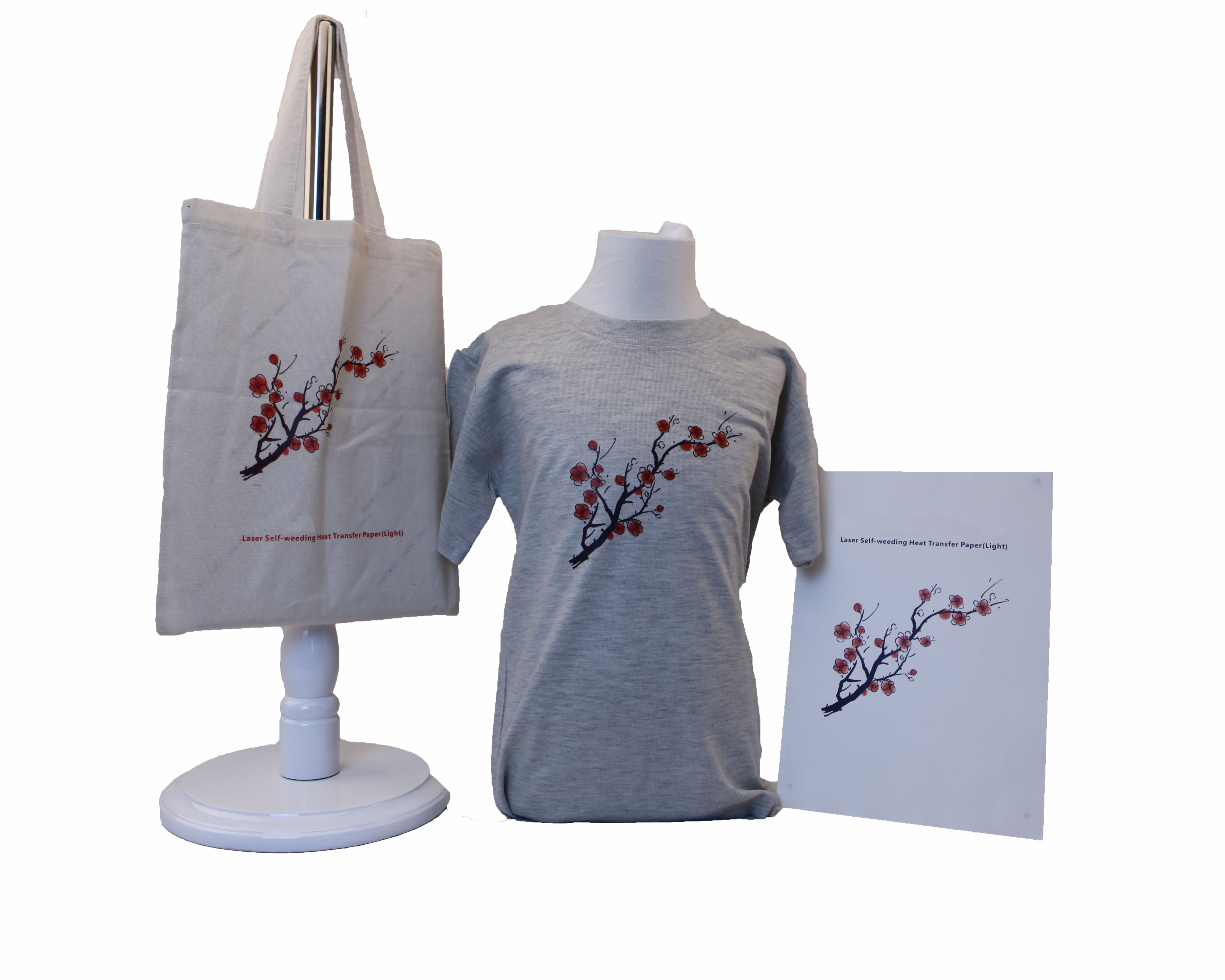 Laser Self Weeding Heat Transfer Paper for Light-colored Fabric A3