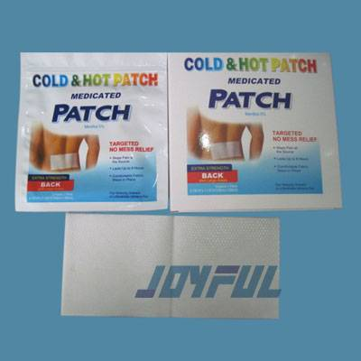 High Quality Muscle Pain Relief Hot patch and Cold Patch without Stimulation