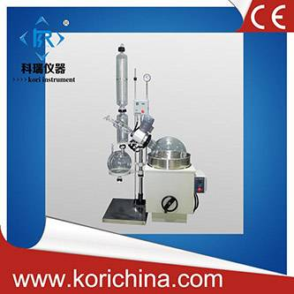 CE approved high quality borosilicate GG17 Rotary Evaporator