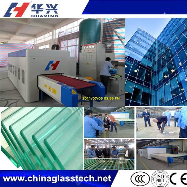 Advanced Heating System Mini Glass Tempering Machine