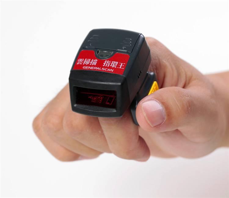 GS R1000BT 1D Laser Wearable wireless Ring Barcode Scanner Bluetooth Mini Barcode Scanner 1D Barcode