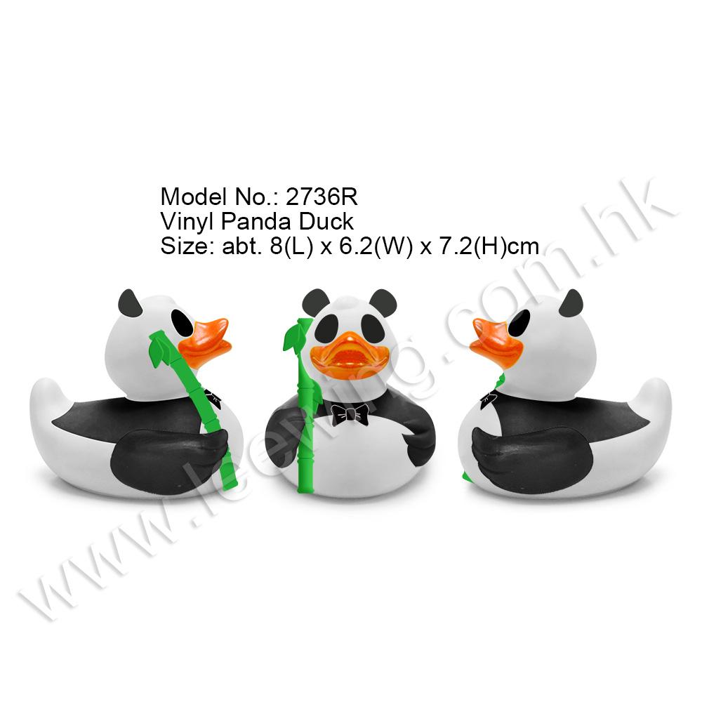 Vinyl Panda Duck