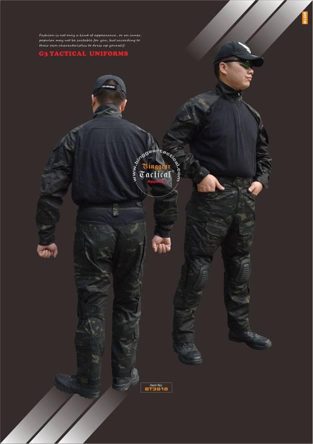 Camouflage Tactical Uniforms BT3818
