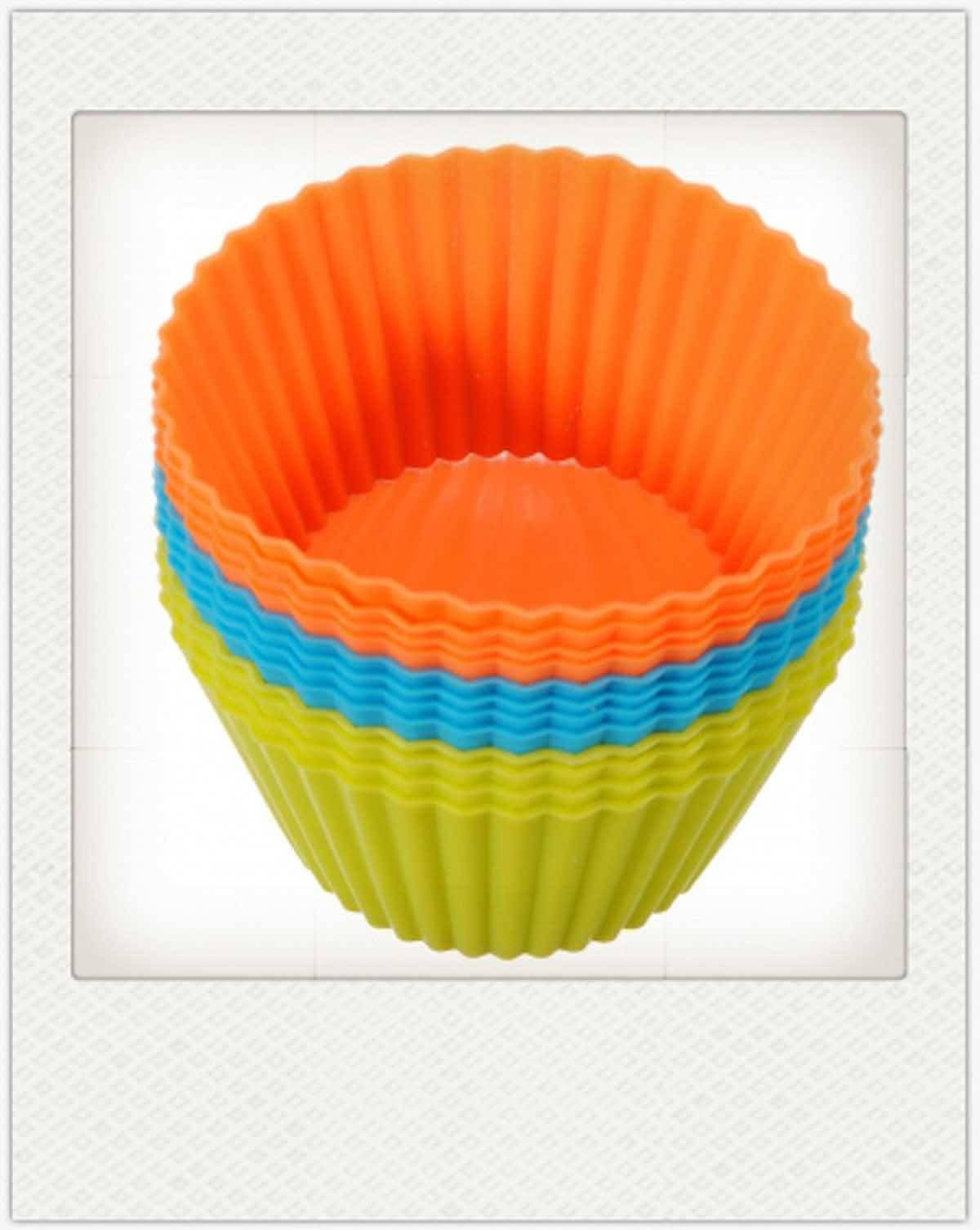 Silicone Soft Round Cake Muffin Chocolate Cupcake Liner Baking Cup Mold