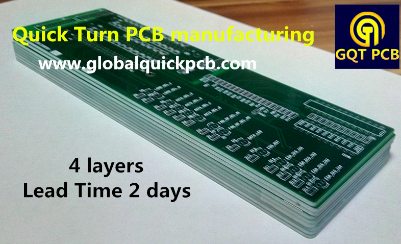 2days quickturn 4 layers PCB