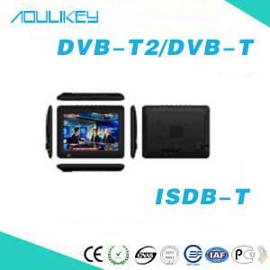 9inch HD Portable TV/TV Box with FM for DVB-T2 /ISDB-T  DT-901