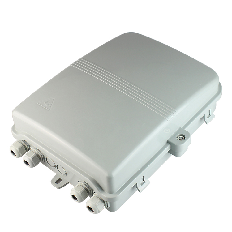 Indoor 16-core fiber optic distribution box for FTTH use
