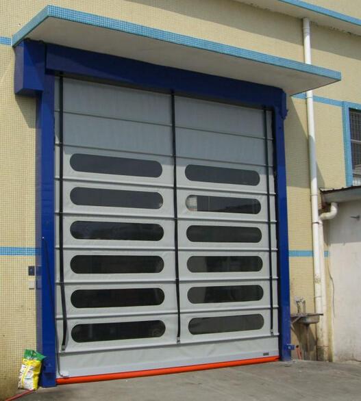 Automatic Electric Vertical Lift Overhead Garage Door, High speed door/ Roller shutter door
