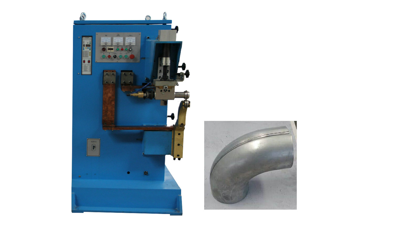 Bent pipe seam welding machine