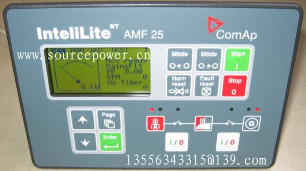 IL-NT AMF 25 InteliLite NT AMF 25 ComAp Auto Mains Failure  Generating set Controller
