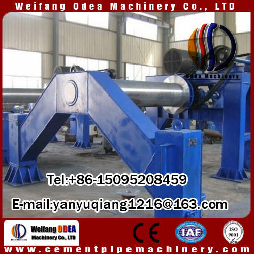 Carbon Steel Cement Pipe Making Machine For Construction Materials Machinery