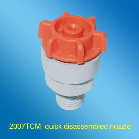 Quick disassembled Plastic Nozzle