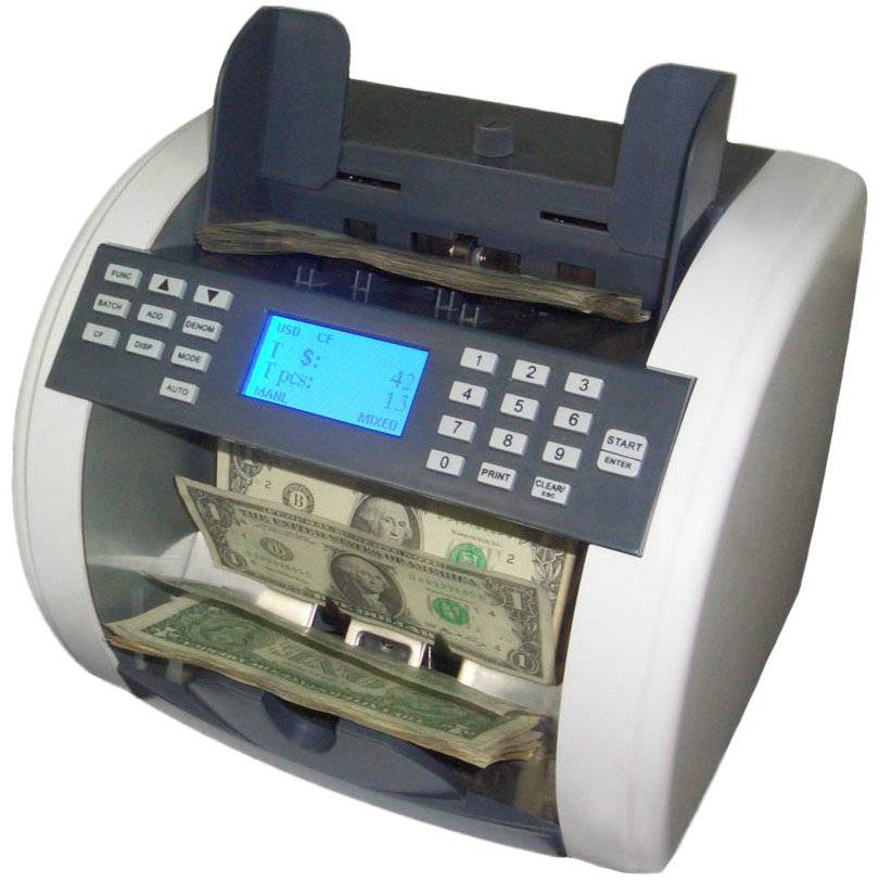 Reliable currency discriminator / money counter / bill counter /mixed value counter for USD&EURO&GBP