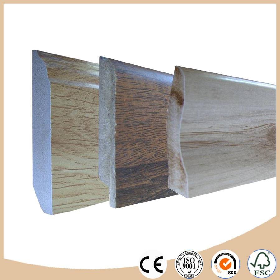 skirting board / baseboard moulding for laminate flooring