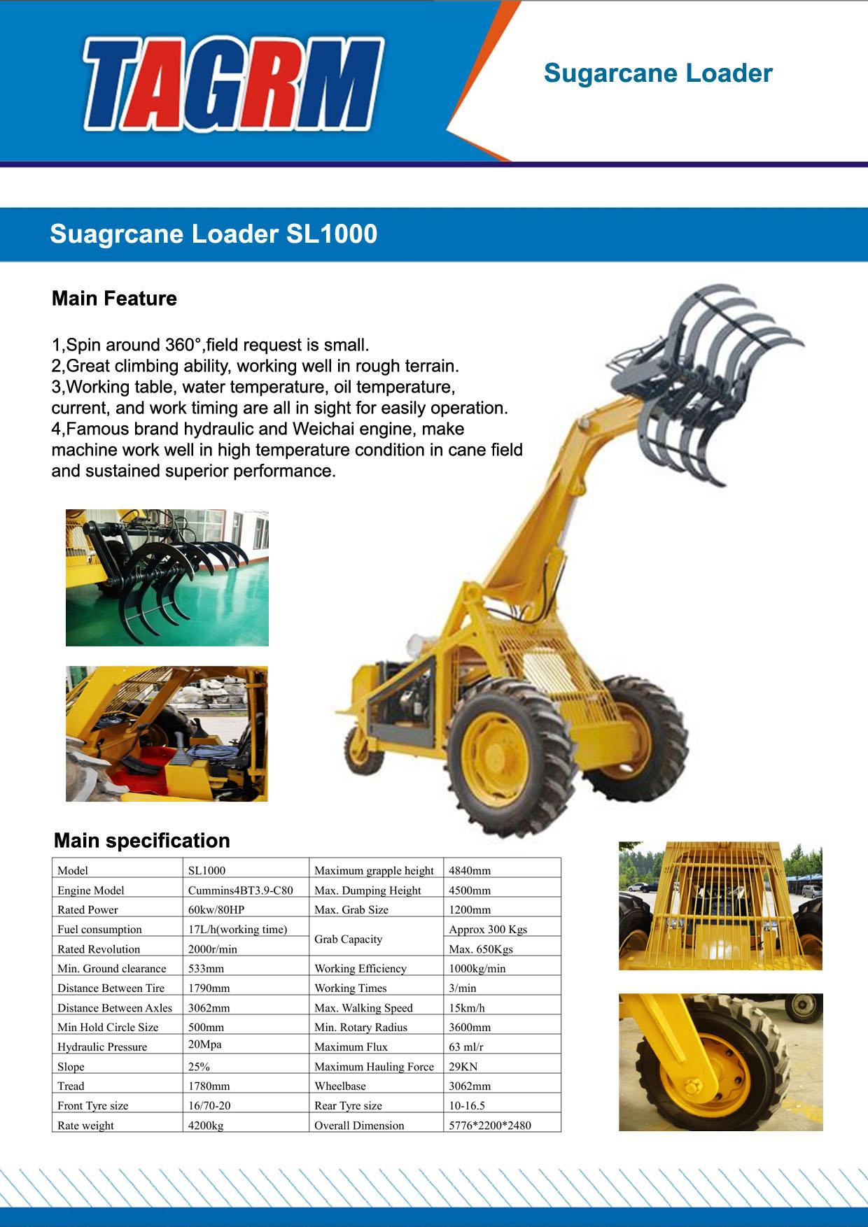 SL1000 sugarcane loader