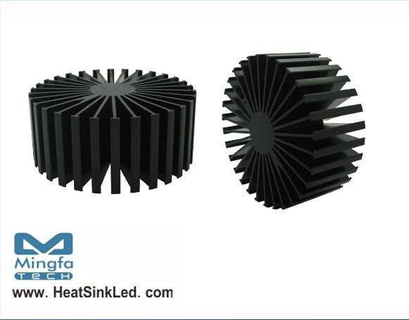 Bridgelux Modular Passive LED Cooler Cool-LED Simpo-BRI-11750