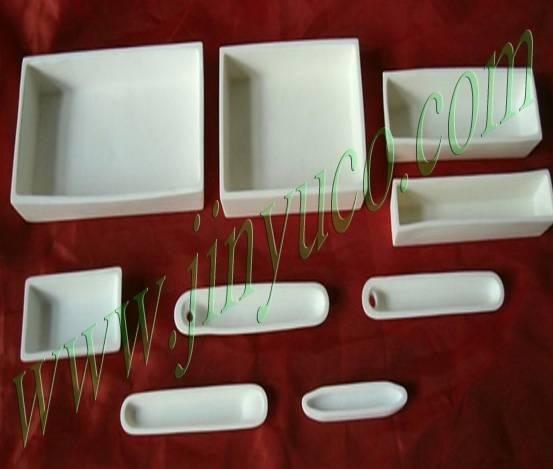 99.7 High Alumina Ceramic Boat (ISO9001)